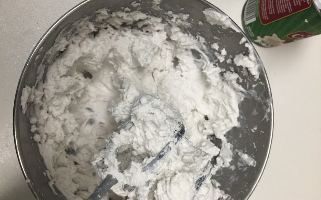 Coconut Whip (Rich, Dairy free Whipped Cream)